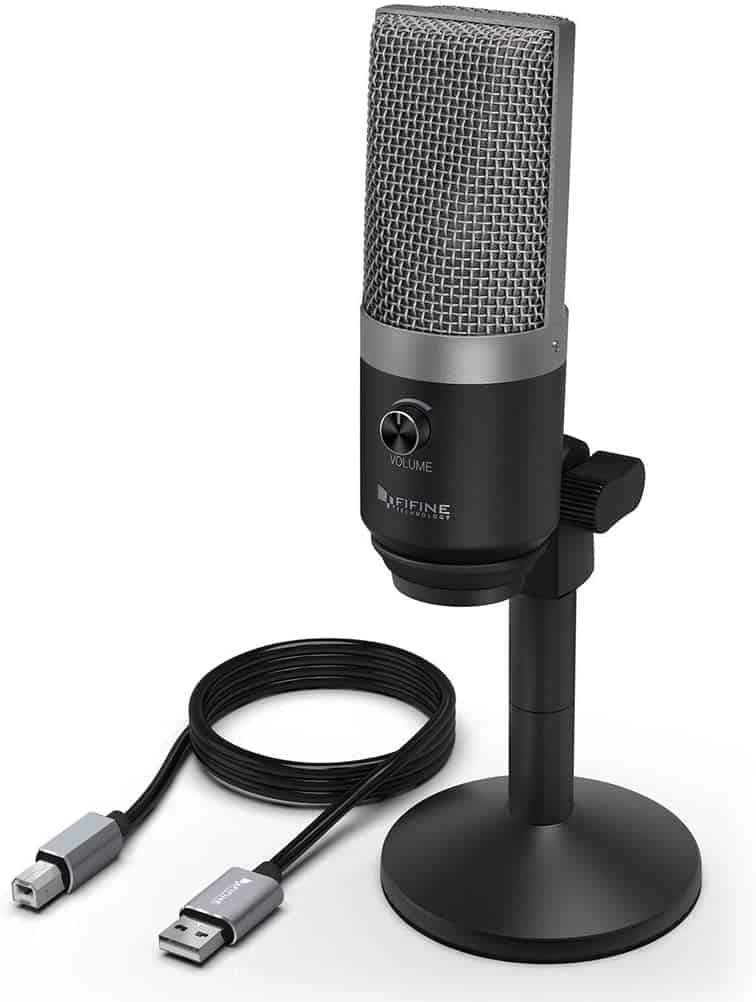 Best cheap condenser mic: Fifine Metal USB