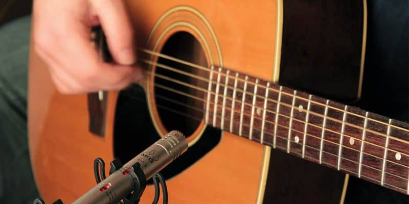 Microphones For Acoustic Guitar Live Performance