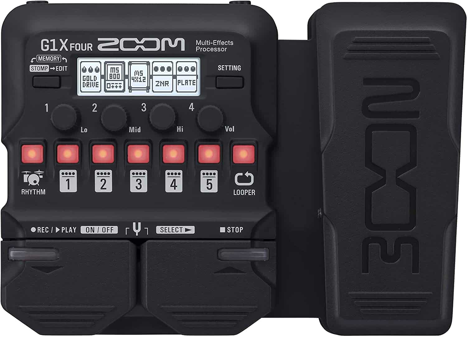Best expression pedal: Zoom G1X Guitar Multi-Effect Pedal