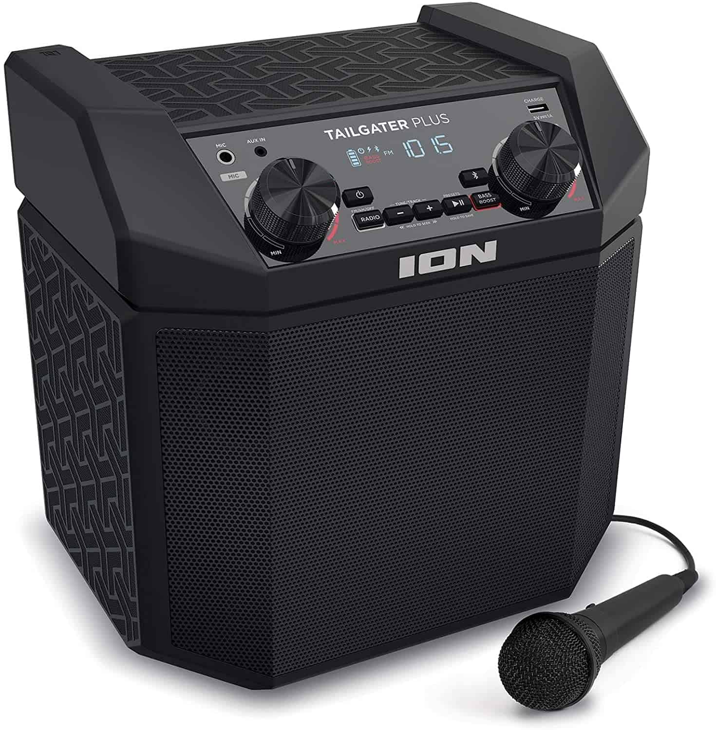 Best battery powered PA system: Ion Audio tailgate Plus
