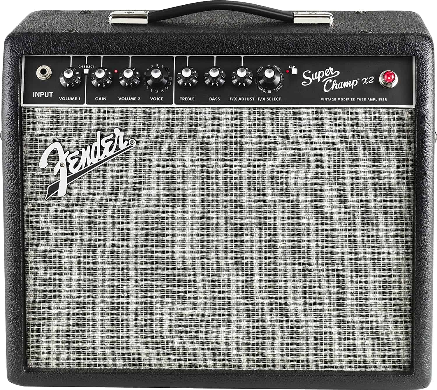 Best amp types emulation: Fender Super Champ X2