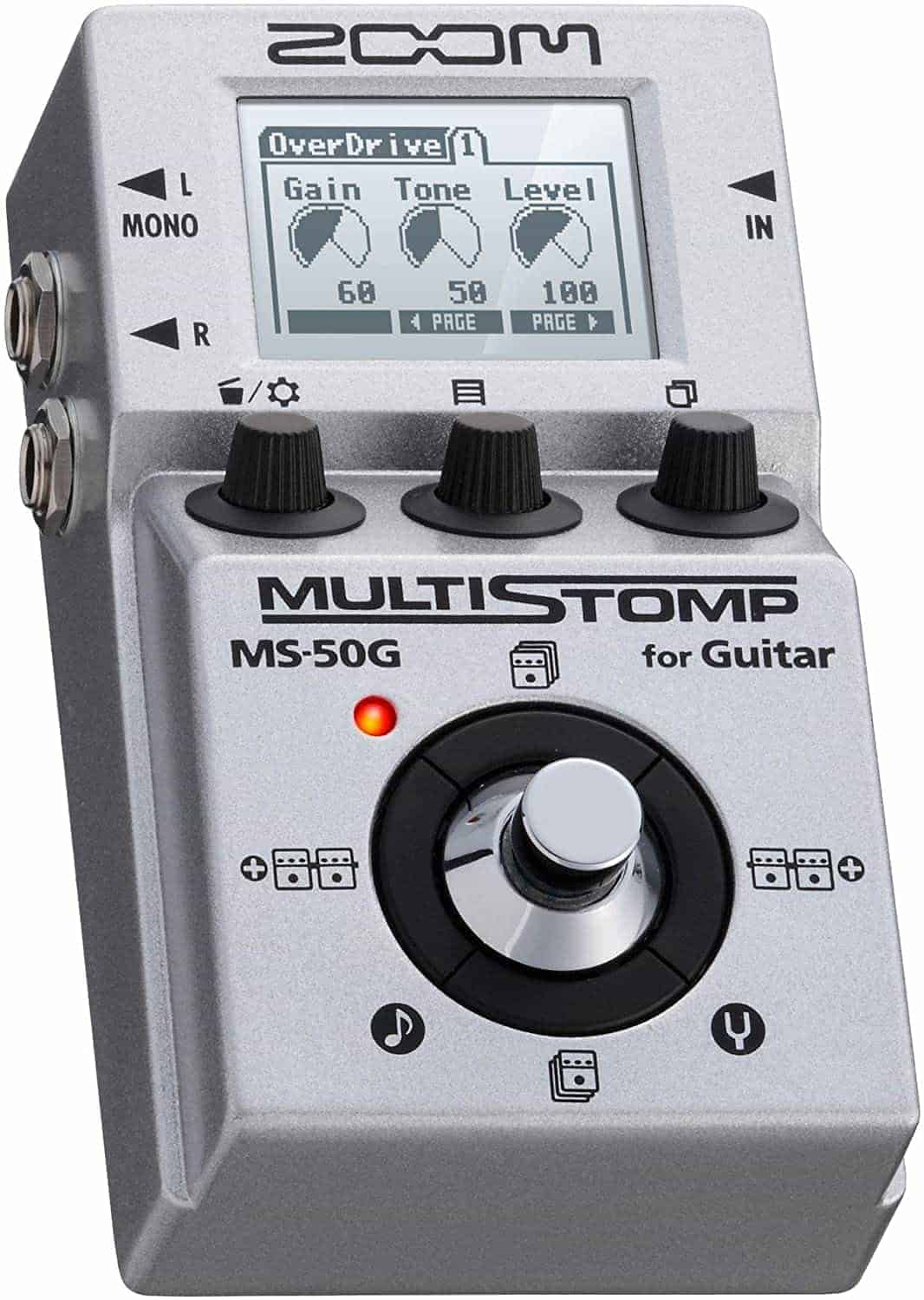 Best Small Stompbox Multi-Effect: Zoom MS-50G MultiStomp