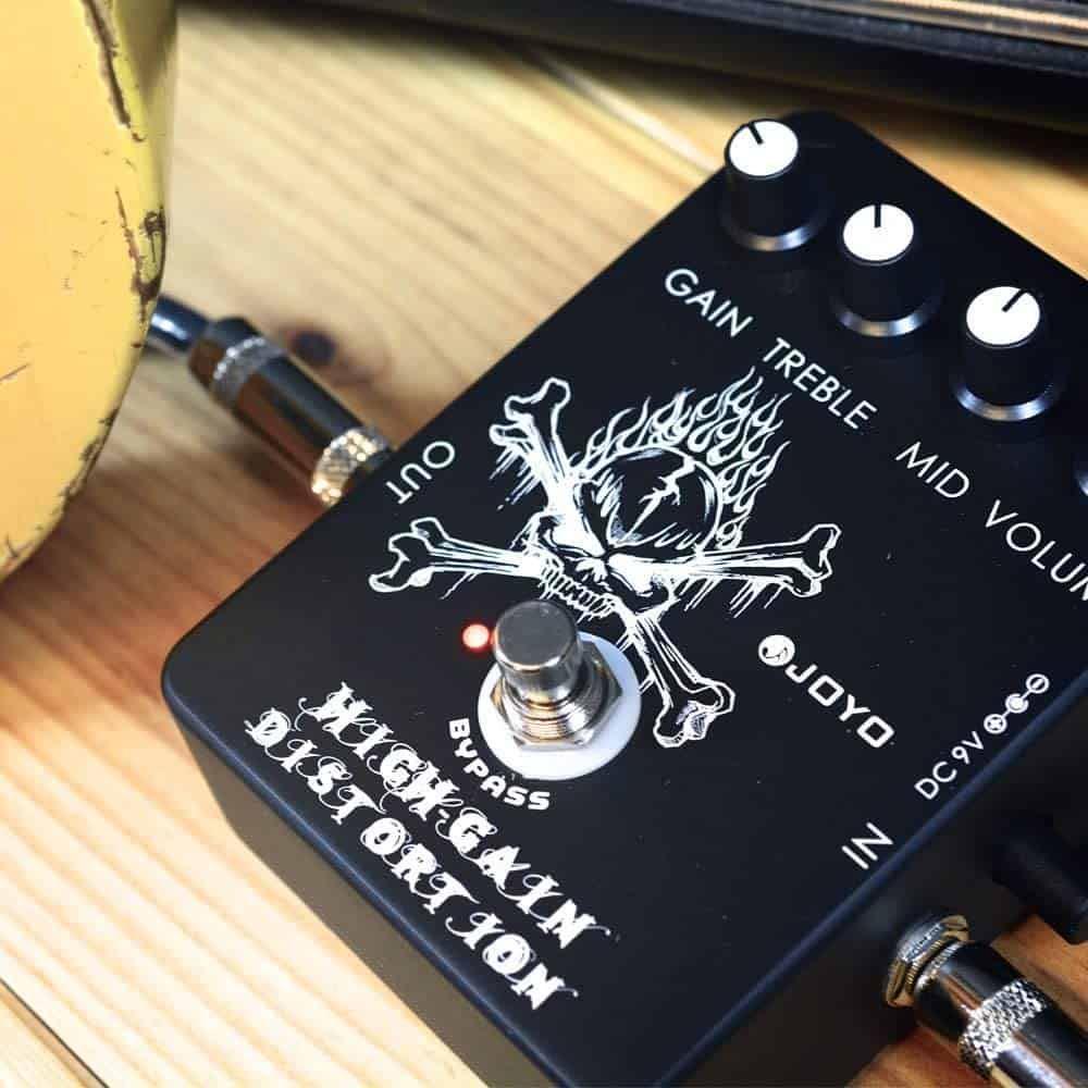 Best cheap budget distortion pedal: Joyo JF-04