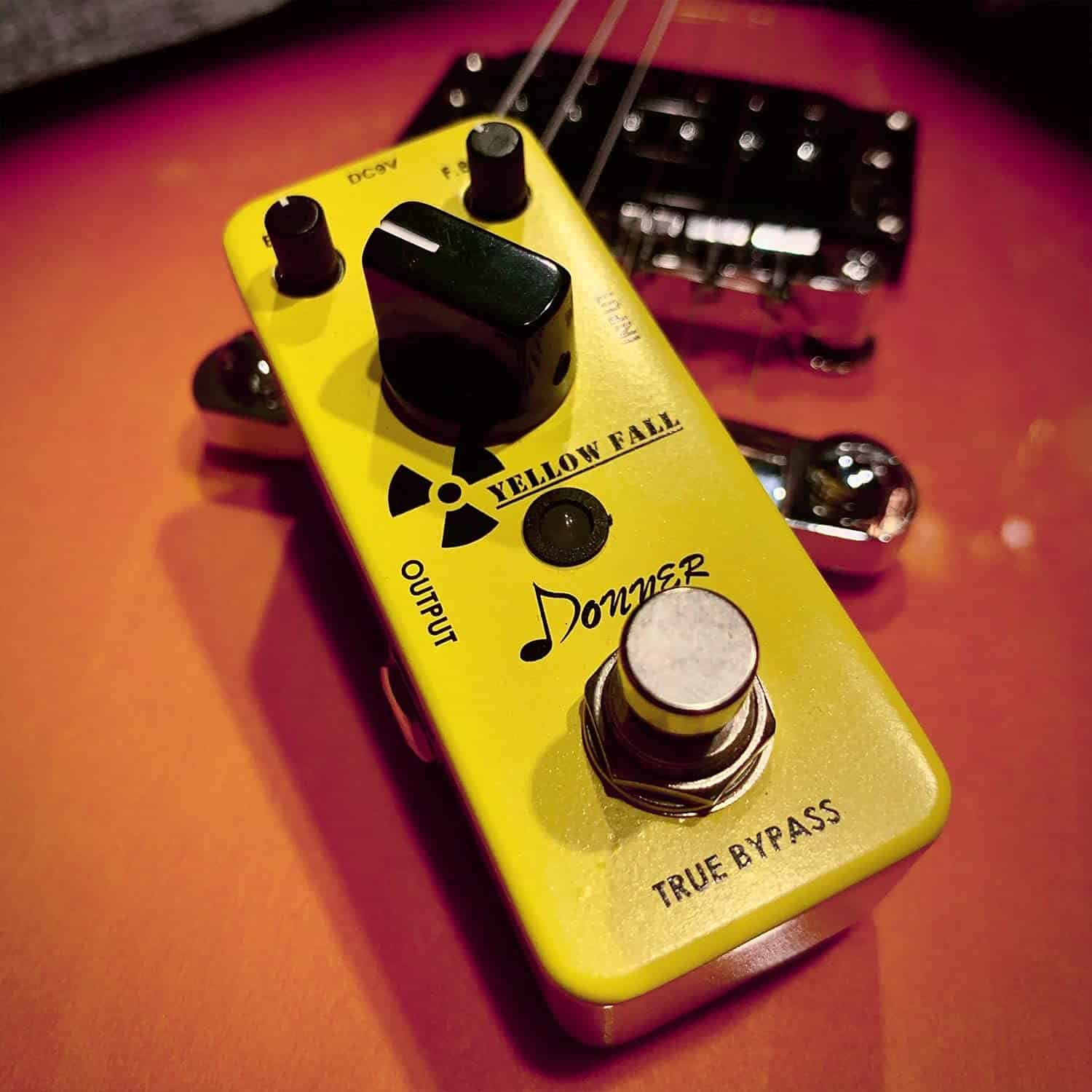 Best delay pedal: Donner Yellow Fall Vintage Pure Analog Delay