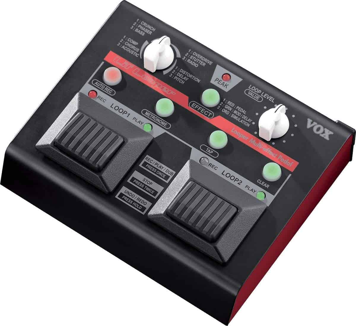 Best easy to use looper pedal: VOX Lil' Looper