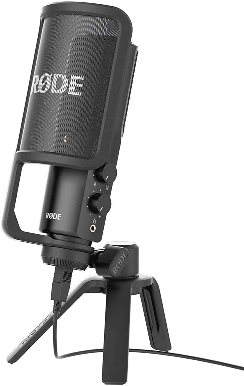 Overall best USB condenser microphone: Rode Nt-USB