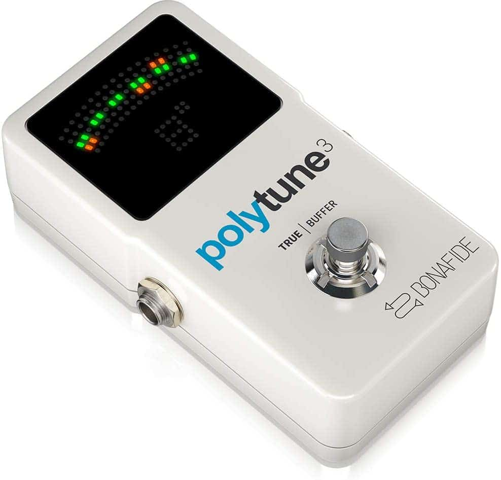 Overall best tuner pedal: TC Electronic PolyTune 3