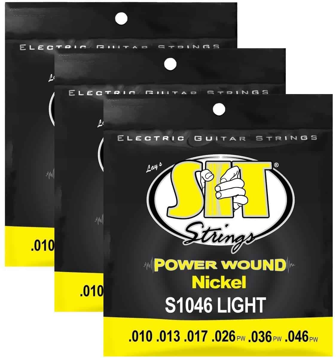 Best Strings For Metal: SIT Power Wound
