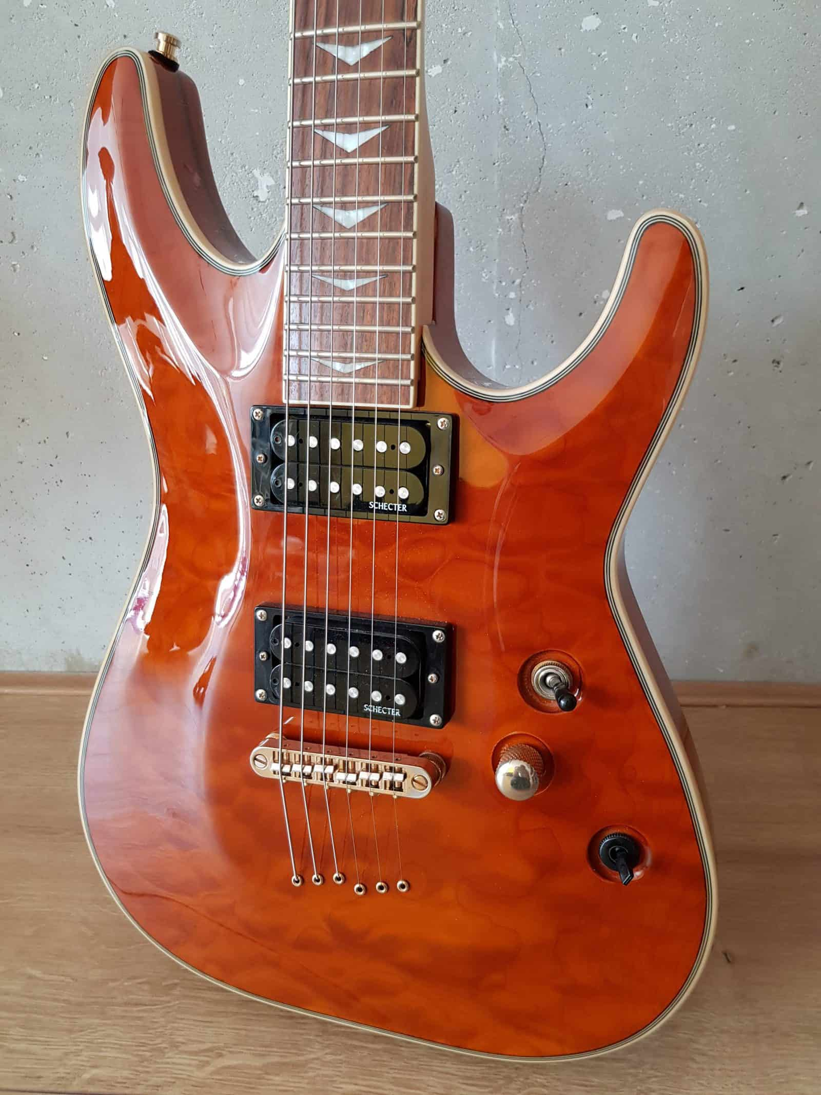 Beautiful Schecter Omen Extreme top