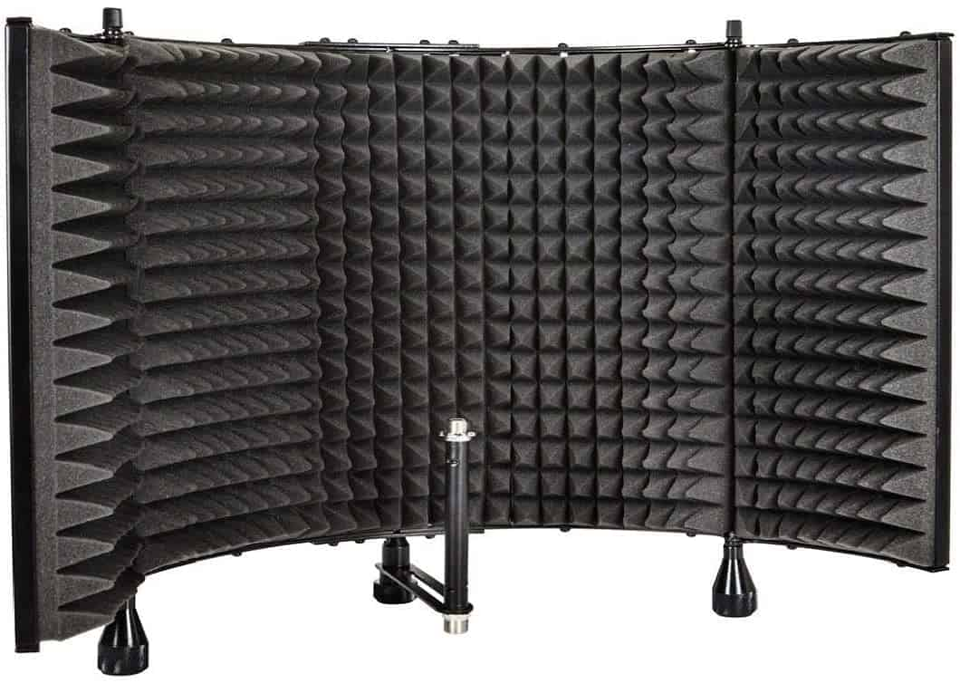 Best Large Mic Shield: Monoprice Microphone Isolation