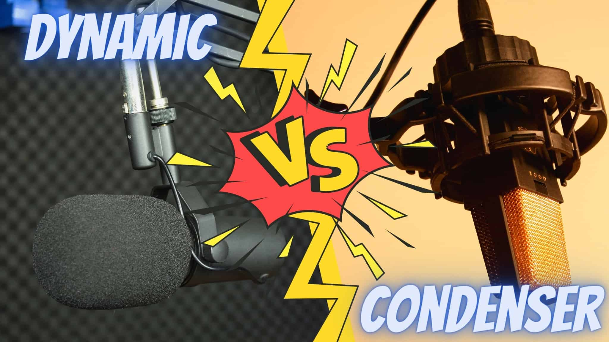Dynamic vs. Condenser Microphone | Differences Explained + When to Use Which