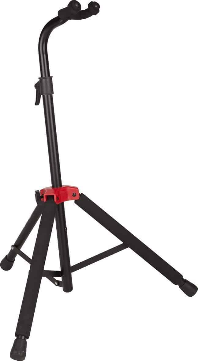 Best guitar stand for nitrocellulose finish: Fender Deluxe Hanging