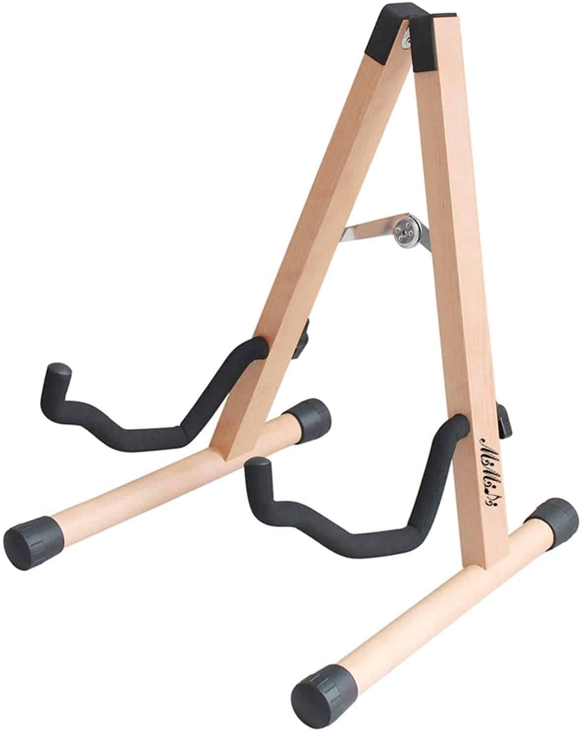 Best wooden guitar stand: MIMIDI Foldable