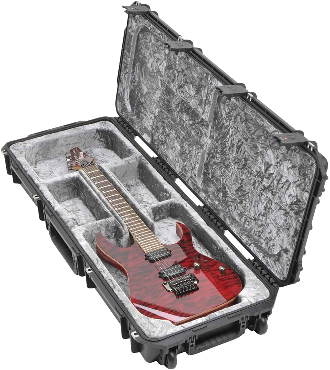Most durable guitar case & best professional touring case: SKB Injection Molded